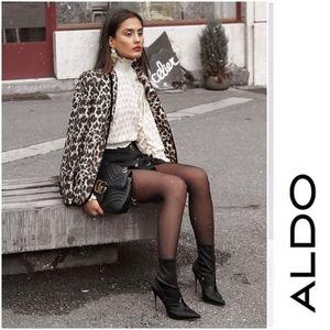 Sexy Aldo Satin Sock Booties
